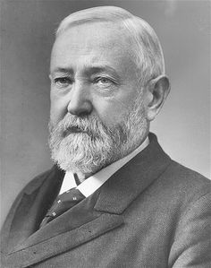 Benjamin Harrison, the 23rd US president, is one of four to lose the popular vote but win the Electoral College. (He defeated Cleveland.) His grandfather was the ninth president, William Henry Harrison. He struggled with tariff issues while in office and signed bills for domestic improvements and expansion of the Navy. He was the first president to attend a baseball game.