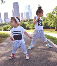 baby girl summer style monochrome joggers. Awesome site for athleisure street wear