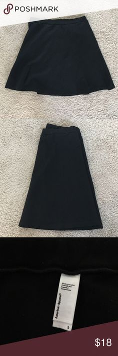 American Apparel Hyperion Skirt A ponte mini skirt with a slight A-line design and elastic waistband. Not much else to it, it's extremely versatile and simple. Good condition. American Apparel Skirts Mini