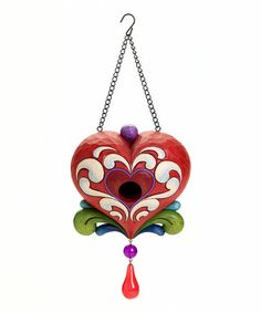 Take a look at this Heart Birdhouse by Jim Shore on #zulily today!