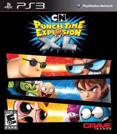 Cartoon Network Punch Time Explosion XL  Playstation 3 * You can find out more details at the link of the image. Note:It is Affiliate Link to Amazon.