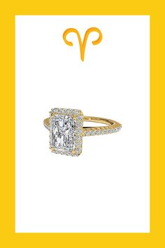 Gorgeous engagement rings meant for every sign of the zodiac