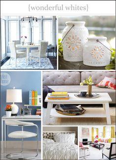 Colour palette roundup: Wonderful whites