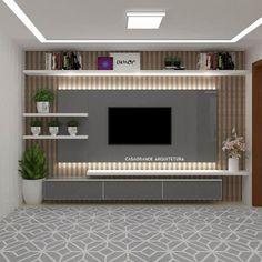 Modern living room tv panel by homify modern wood wood effect . - Modern living room tv panel by homify modern wood wood effect Room Door Design, Tv Wall Design, Home Room Design, Wall Unit Designs, Living Room Tv Unit Designs, Tv Unit Furniture Design, Tv Wanddekor, Tv Unit Decor, Modern Tv Wall Units