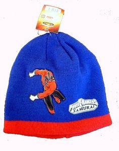 Official Licensed GENUINE Power Rangers Blue  amp  Red Beanie Hat -  Licensed power Rangers Merchandise 48c455c0e666e