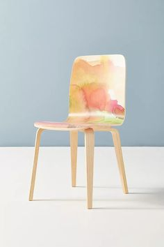 Kitchen Chairs, Dining Room Table, Dining Chairs, Watercolor Fabric, Watercolor Artwork, Home Decor Online Shopping, Hearth And Home, Dining Room Inspiration, Coffee Table Books