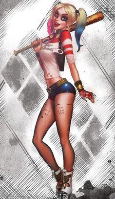 Harley Quinn by Ryan Fruik