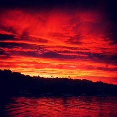 Sunrise at Spit Bridge.