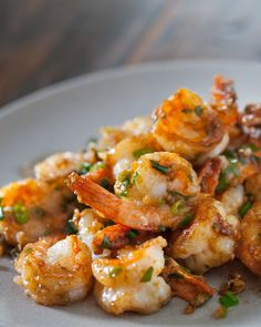 Garlic Ginger Shrimp Stir Fry from Steamy Kitchen