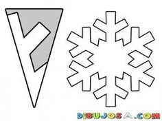 Ideas for diy paper snowflakes templates snow flake christmas snowflakes Ideas for diy paper snowflakes templates snow flake Diy Christmas Fireplace, Diy Christmas Snowflakes, Snowflake Craft, Snowflake Decorations, Christmas Crafts, Simple Snowflake, Snowflake Origami, Kirigami Origami, Paper Snowflakes Easy
