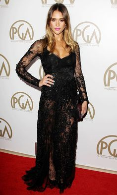Jessica Alba At The Producers Guild Of America Awards, 2013