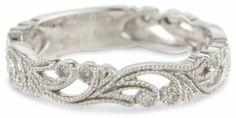 10k White Gold Diamond Ring (1/10 cttw, H-I Color, I1-I2 Clarity)