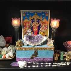 Day 2 of @bycacademy's #InternationalCoachingWeek challenge. Show your coaching space. I'll share a few pics as my entire home office is set up as a #SacredSpace.  Behind my desk in my home office I set up a #SacredAffluence #altar. This means I'm using #ritual to stay centered in #abundance spiritual fulfillment the ability to have unique #influence by staying true to my #DivinePurpose and attuning with the energy of soul-aligned #prosperity.  I believe doing things just for the money is a…