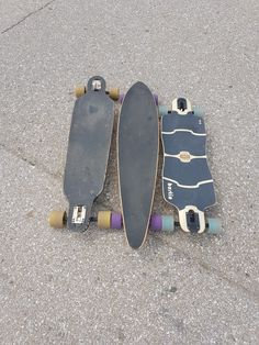 2 boards of my sons and my board