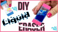 DIY Crafts: DIY LIQUID ERASERS! Orbeez, Lava, Glitter Liquid Eraser DIYs! - YouTube