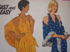 1970s American Hustle Halter Dress Uncut FF by kinseysue