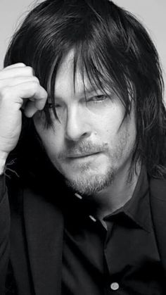 Oh how I love black and white pics of this man. Hell any thing to do with this man.