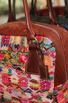 bolsa con textil
