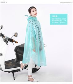 pvc raincoat women Picture - More Detailed Picture about Polka Dot Transparent PVC Raincoat Women Long Poncho Waterproof Motorcycle Unisex Raincoat Plus Size Regenponcho Fahrrad Picture in Raincoats from Tu Bao Bao Store | Aliexpress.com | Alibaba Group #RaincoatsForWomenPolkaDots
