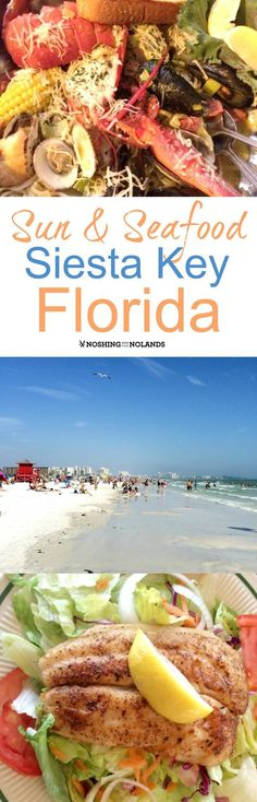 Sun and Seafood are of abundance on gorgeous Siesta Key, Florida. Plus so much for to offer the traveller. Come and see in this great post!