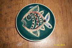 JO LESTER ISLE OF WIGHT FANTASTIC FISH DISH