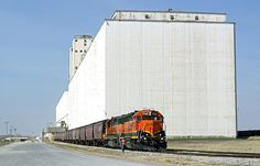 Train in Enid, Oklahoma.
