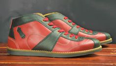 Handcrafted sporting shoes made from the finest leather. Vintage Men, Casual Shoes, Ferrari, High Tops, Men's Shoes, Porsche, High Top Sneakers, Retro, Leather