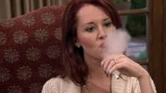 Allison DuBois vaping on the 'Real Housewives of Beverly Hills'