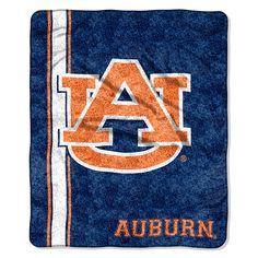 Auburn Tigers NCAA Sherpa Throw Jersey Series 50in x 60in