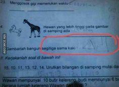Jawaban-jawaban Ujian nYang Bakal Bikin Guru Berhenti Mengajar! | Kaskus - The Largest Indonesian Community