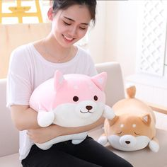PAPER JAZZ Soft Stuffed Dog Animals Plush Toy for Boy and Girl Squishy Pillow Cute Stuffed Animals,1pc