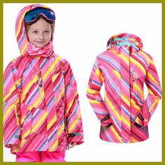 2016 New Girls Youth Perrito Winter Ski Snowboard Beautiful Jacket Parka Coat