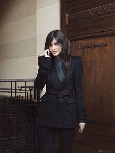 {fashion inspiration | style icon : emmanuelle alt} by {this is glamorous}, via Flickr / #style