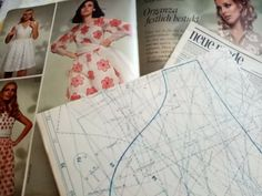 Neue Mode sewing pattern book 60s mod twiggy patterns burda style summer | eBay Burda Sewing Patterns, Sewing Magazines, Disney Princess Dresses, Angel Sleeve, 60s Mod, Fairy Dress, Twiggy, Style Summer, Pattern Books