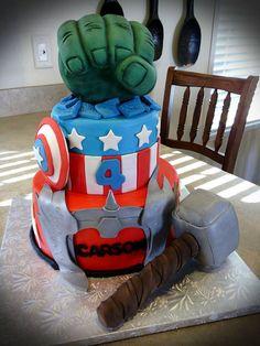 Avengers Cake   Flickr - Photo Sharing!