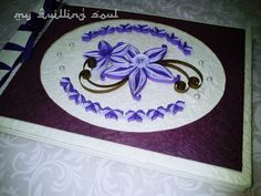 beautiful in blue #quilling #quilled