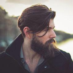 45 Long and Full Beard Styles - Fashiondioxide Beard Styles For Men, Hair And Beard Styles, Hair Styles, Full Beard, Beard Love, Bart Design, Handsome Bearded Men, Beard Quotes, Mens Hairstyles With Beard