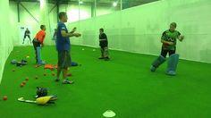 Dave Staniforth Hockey Goalkeeper Coaching - Handling Drill