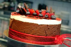 Dort s mašlí z Moje Cukrářství Tiramisu, Cake, Ethnic Recipes, Food, Pie Cake, Pastel, Meal, Cakes, Essen