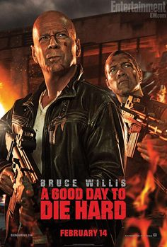 A Good Day to Die Hard Poster Hits - IGN
