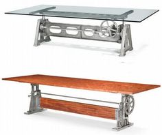 Ordinaire Recycled Factory Machinery Furniture 3. Industrial ...