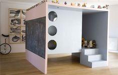 cool indoor playhouse