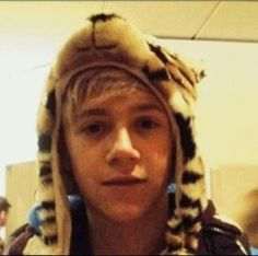 Day 11: my favourite photo of Niall is this one! It's so adorable