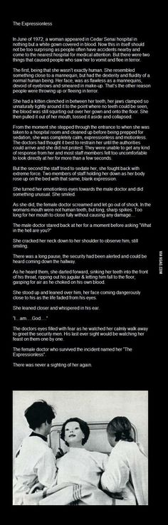 Even scarier. I honestly almost lost sleep when reading this at midnight last night.
