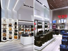 TUMI flagship store by dror opens on madison avenue in NYC.