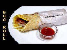 Egg Rolls Recipe-Kolkata Style Egg Roll-Anda Roll-Indian Street Food Recipe-Egg Frankie - YouTube