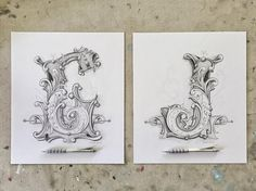 These drawings now have a new home with my friend @hairstylistgreg. Thanks for commissioning them! I had a blast making them. Designs were based off of work by @davesmithartist So many people ask why I spend so long working on a single art piece. My response is also my greatest asset: Attention to Detail. In a world full of instant gratification mindsets it is important to recognize that certain things can't be rushed. An olive tree King of all trees requires 100 years to mature. An onion…
