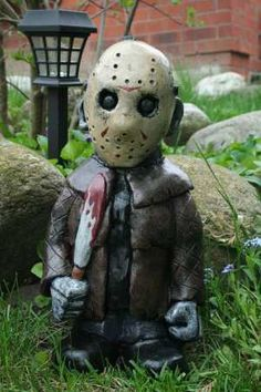 Spruce Up Your Garden with These Horror Film Lawn Gnomes!