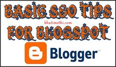 Top Killer SEO tips for Blogger 2015 2016 Seo Tips, Latest Updates, Website, Top, Crop Shirt, Shirts