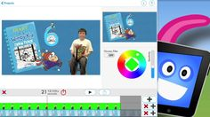 Make a movie on the Green Screen!! Learn the basics of how to use the Green Screen iPad App by Do Ink.